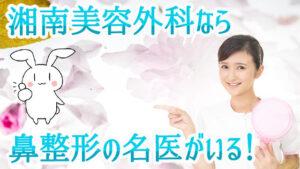 湘南美容外科なら鼻整形の名医がいる!