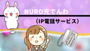 NURO光でんわ(IP電話サービス)